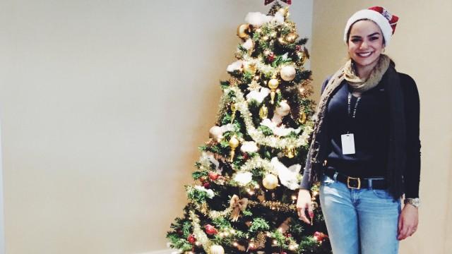 Julia - spending Christmas in Canada