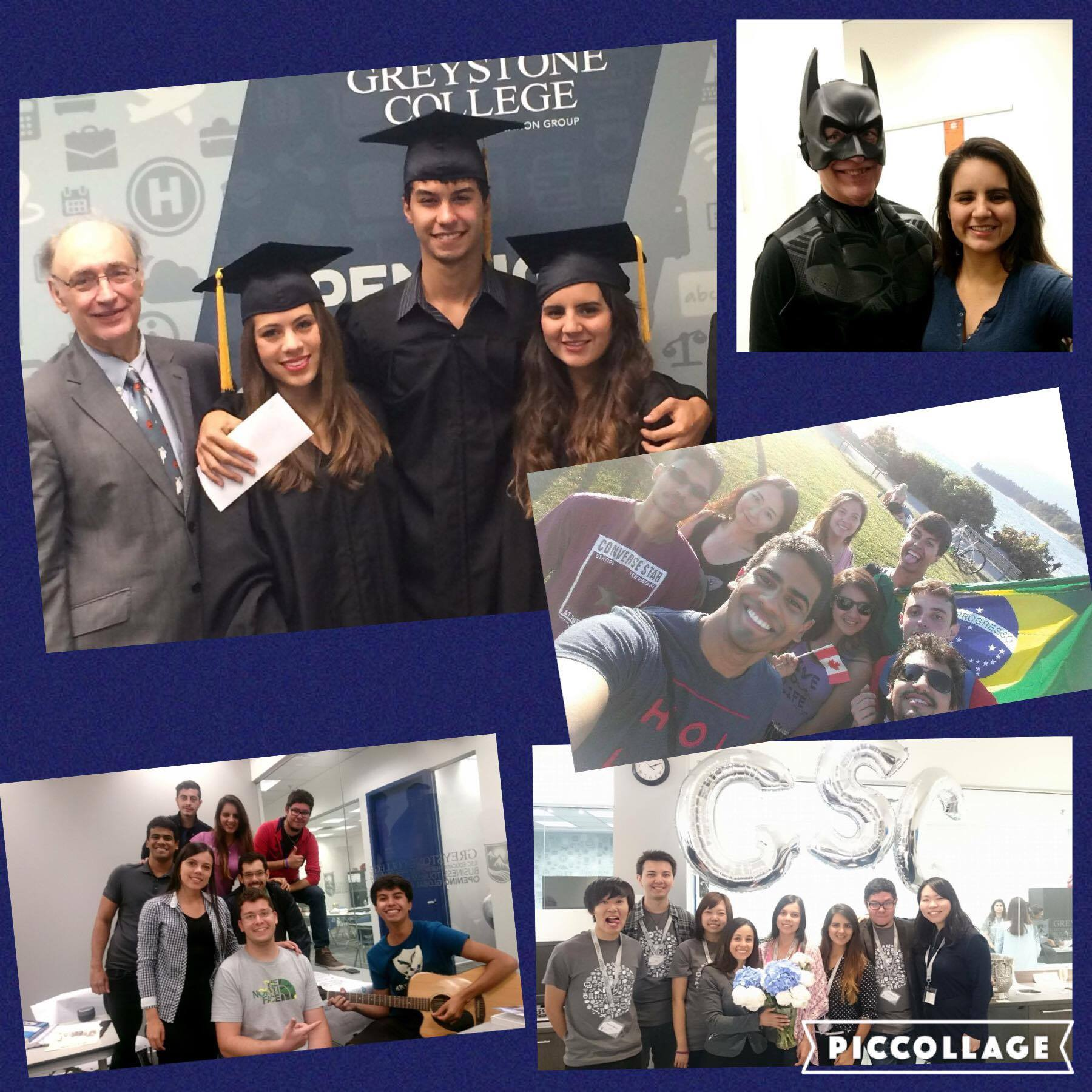 Michelle's time studying abroad with Greystone College