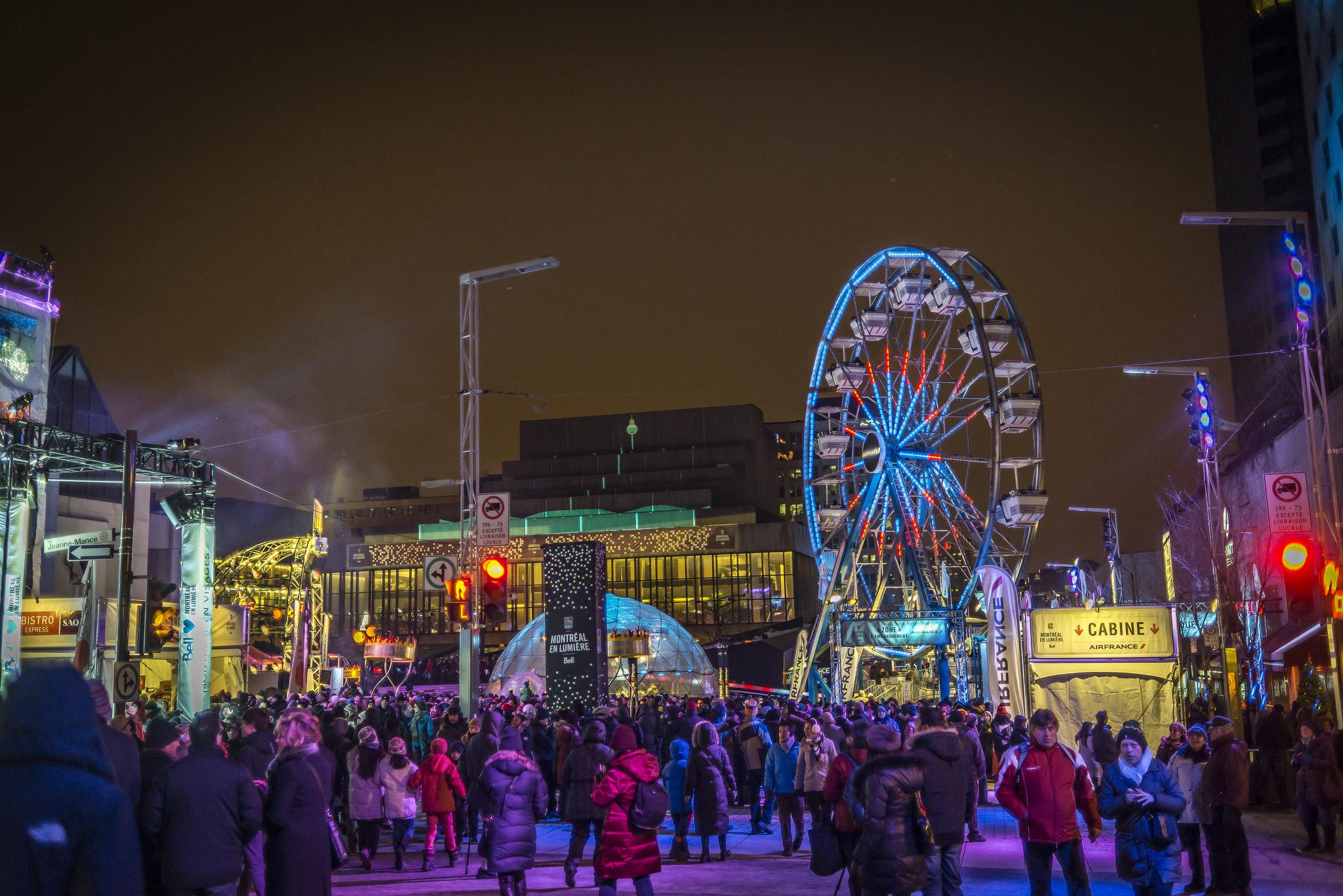 Montreal Festival En Lumiere
