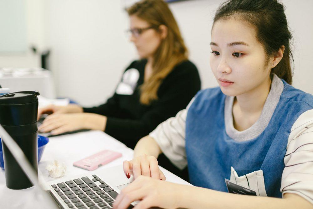 Student in Practicum