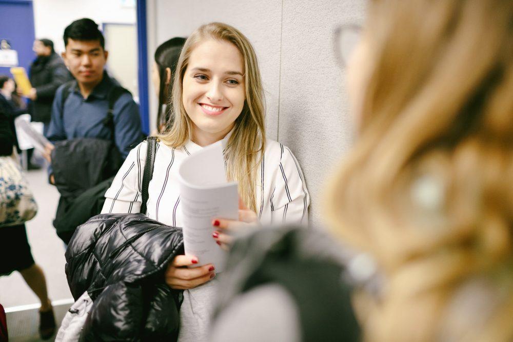 Happy Student after practicum