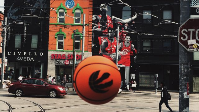 The Toronto Raptors are just one of the city's major sports teams.