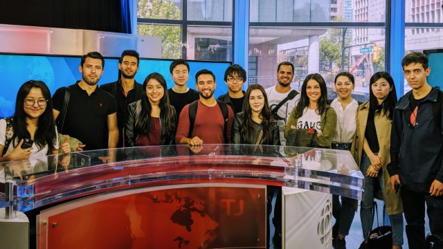 Greystone College Vancouver students get a first hand view of one of Canada's main media organizations, in a visit to the CBC (Canadian Broadcasting Corporation).
