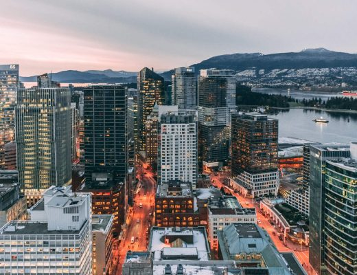 Vancouver city skyline - tips for new students in Vancouver