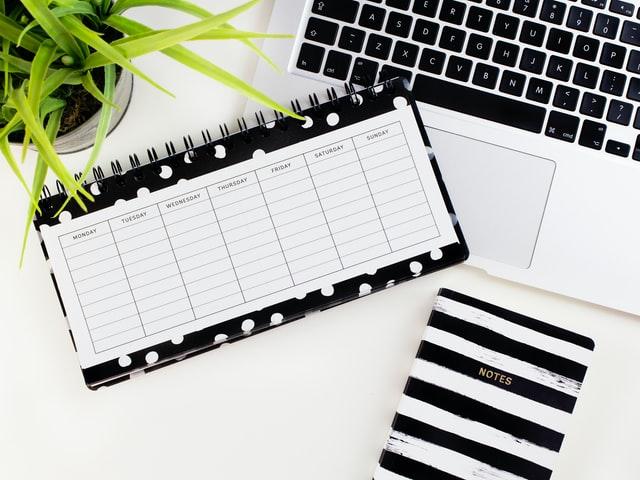 Calendar book - optimize your time
