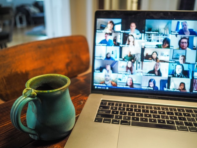 virtual networking on a laptop - photo by Chris Montgomery - unsplash